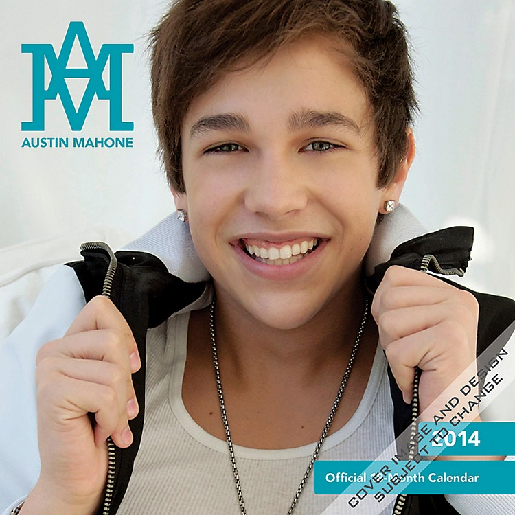 Browntrout Publishing Austin Mahone 2014 Calendar Square 12x12