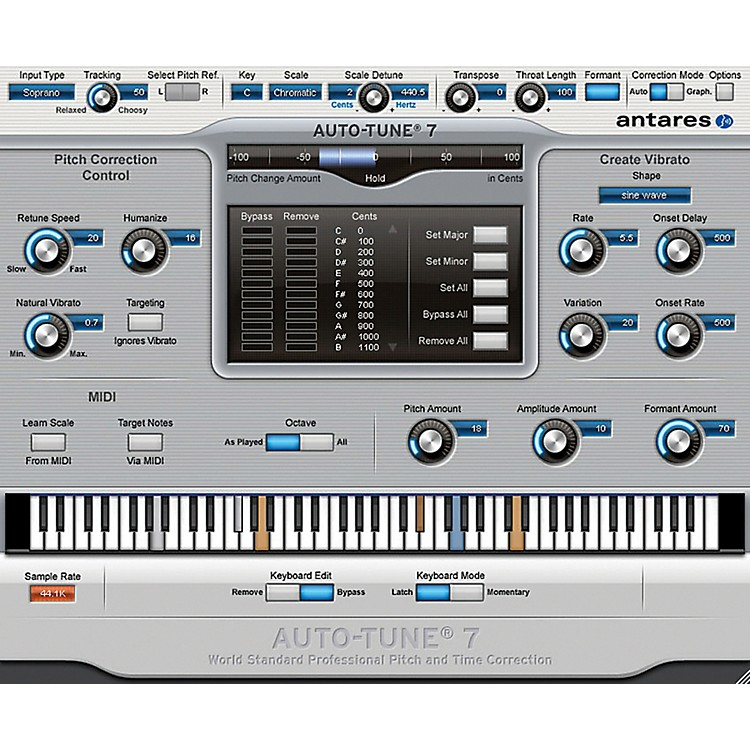 Antares Auto Tune 7 TDM Software Download