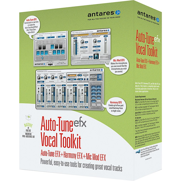 Antares Auto-Tune EFX Vocal Toolkit