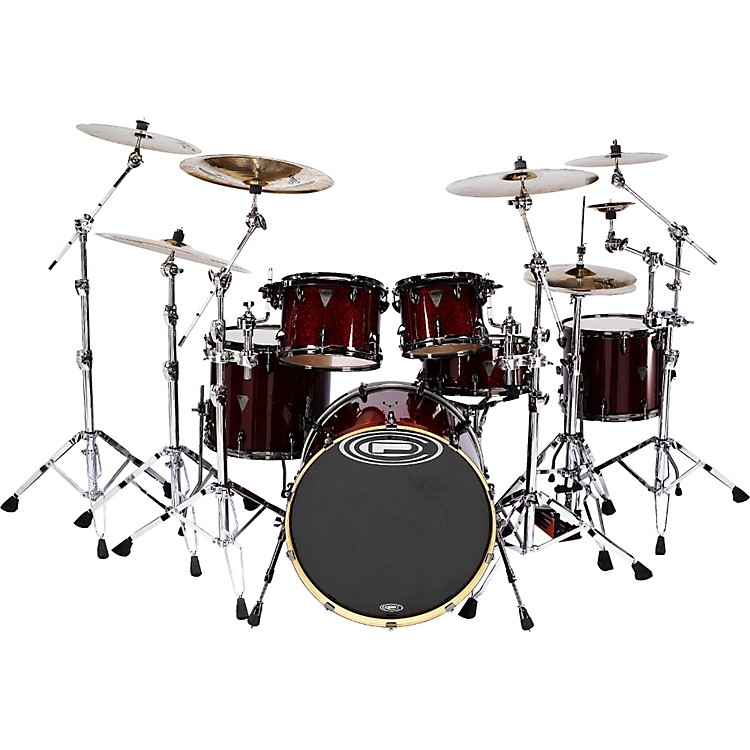 Orange County Drum & Percussion Avalon 6-piece Shell Pack Satin Black