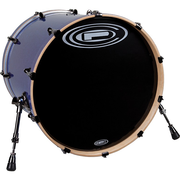 Orange County Drum & Percussion Avalon Bass Drum 20x22 Black Sparkle