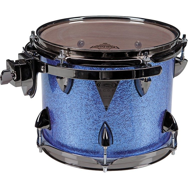 Orange County Drum & Percussion Avalon Tom Drum 10x13 Moody Blue Sparkle