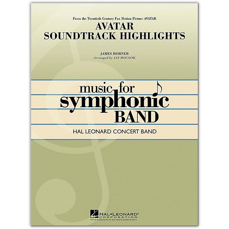Hal LeonardAvatar Soundtrack Highlights Concert Band Level 4