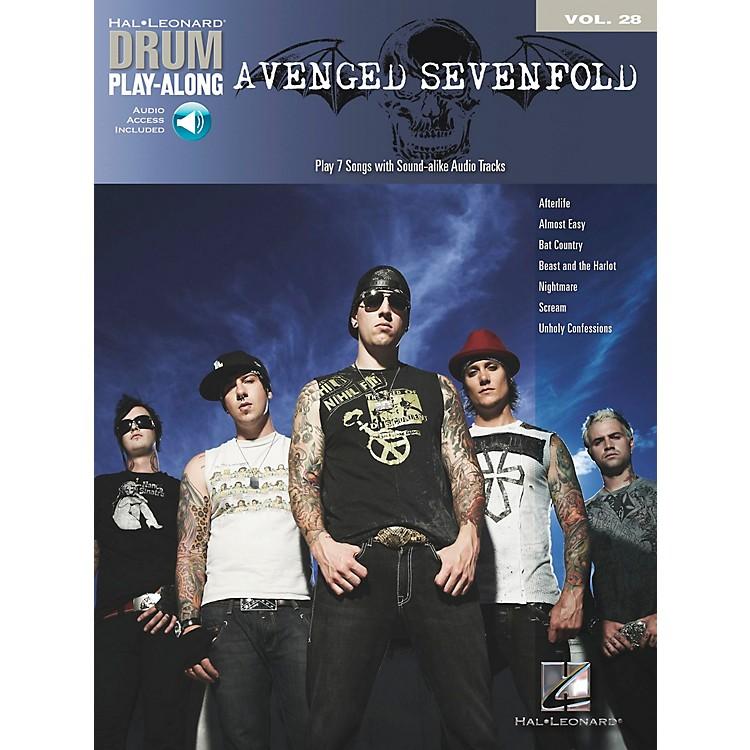 Hal LeonardAvenged Sevenfold Drum Play-Along Volume 28 Book/CD