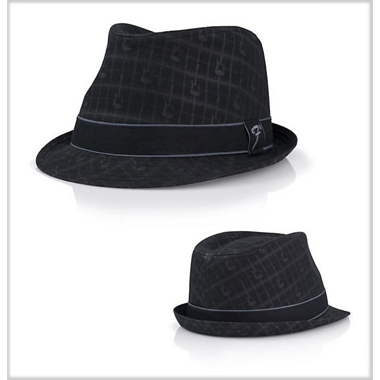 Fender Axe Plaid Fedora Black Small/Medium