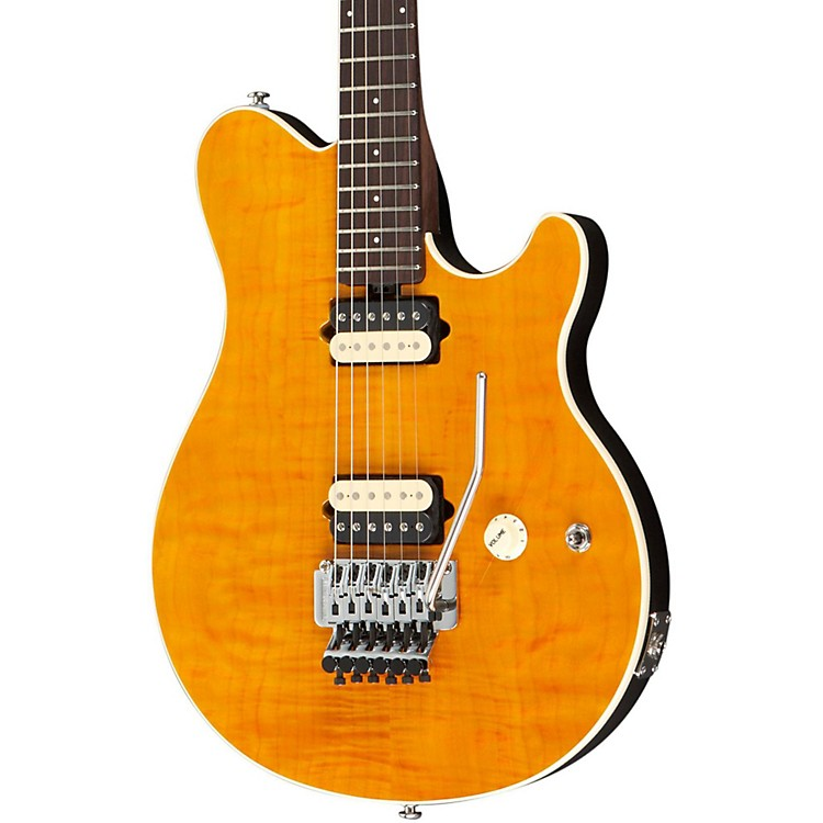 Music ManAxis Electric Guitar with All Rosewood NeckTranslucent Gold