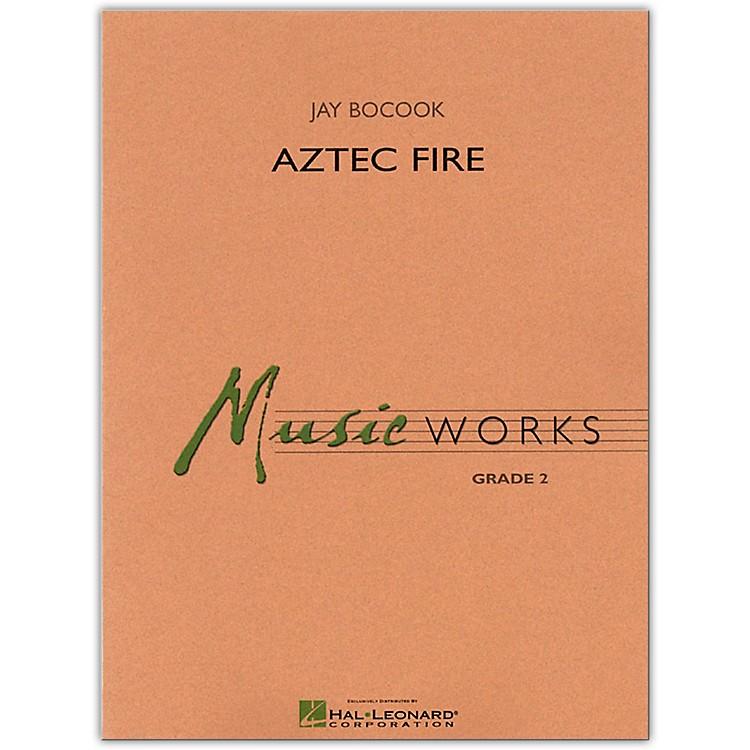 Hal LeonardAztec Fire MusicWorks Concert Band Grade 2