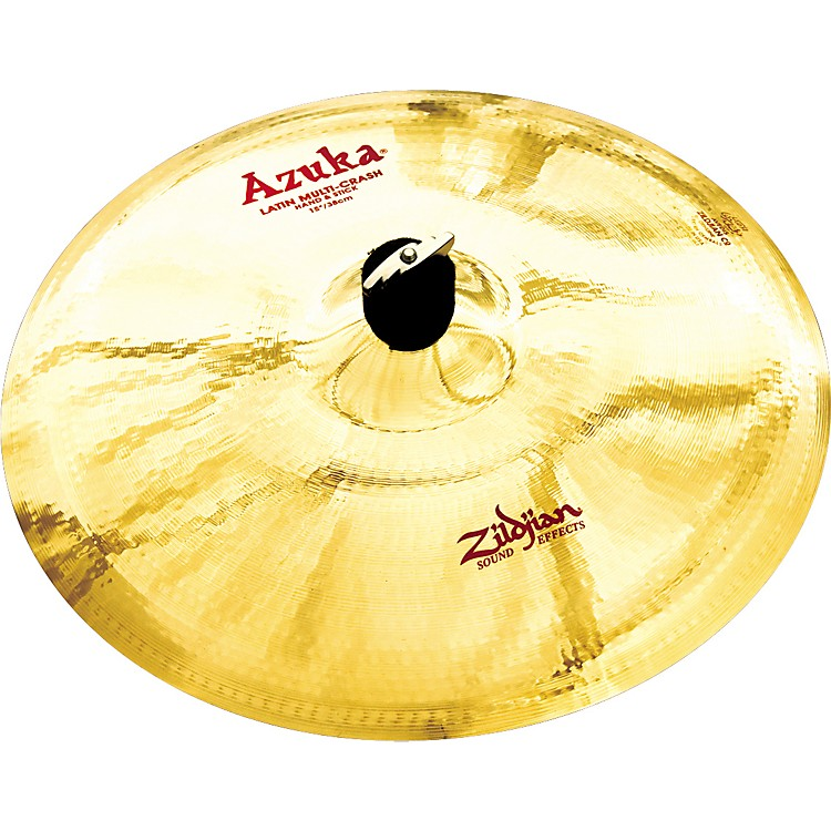 Zildjian Azuka Latin Multi-Crash Hand and Stick  15 in.