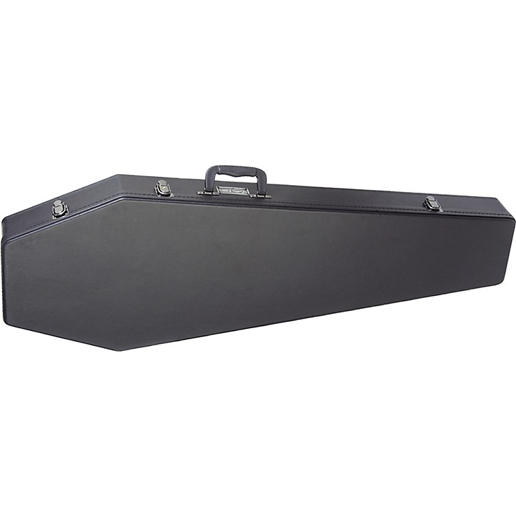 Coffin Case B-195 Universal Bass Case with Red Interior