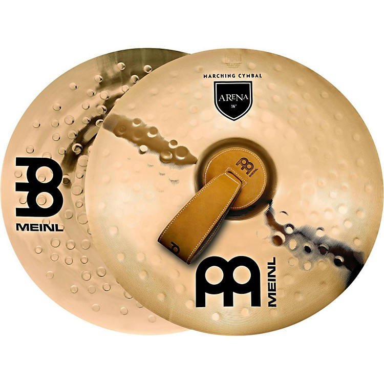 MeinlB10 Marching Arena Hand Cymbal Pair16 in.