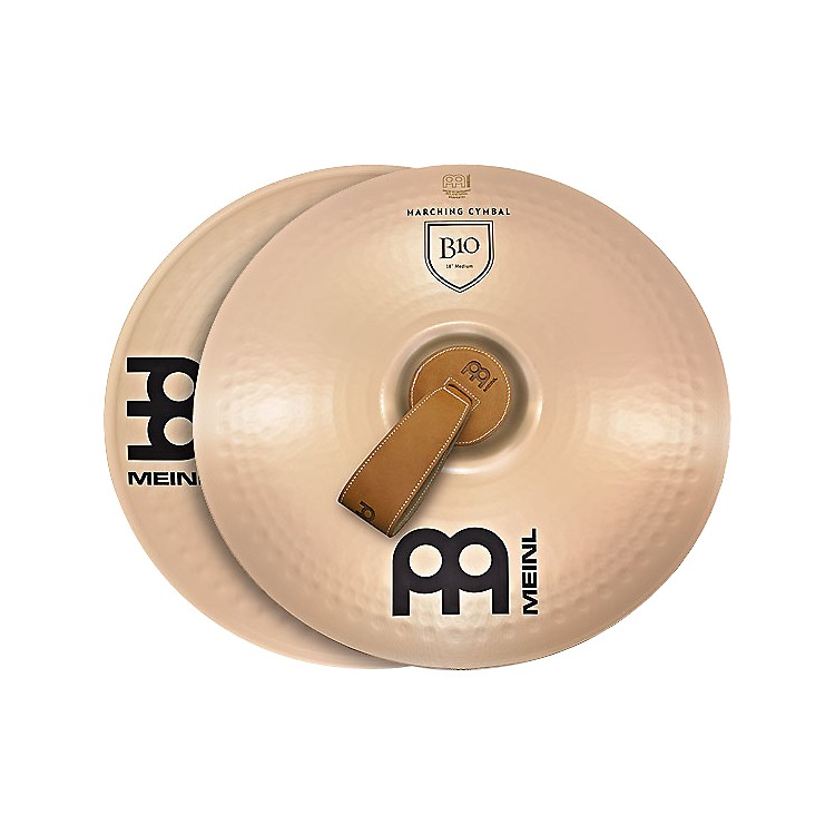Meinl B10 Marching Medium Cymbal Pair 16 in.