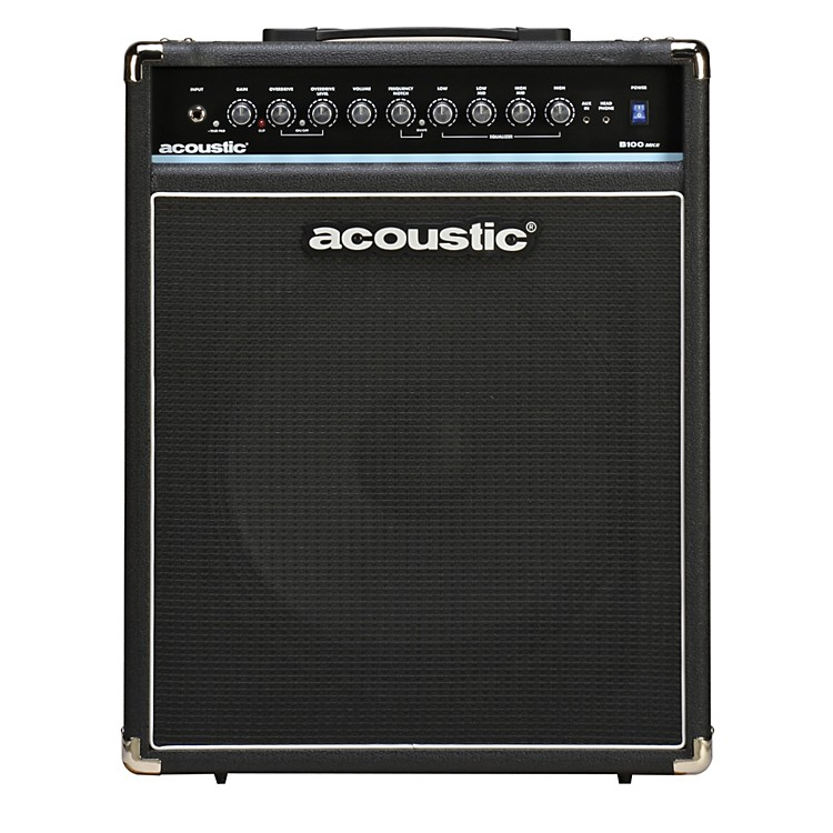 AcousticB100mkII 100W Bass Combo AmpBlack