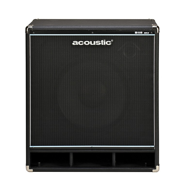 Acoustic B115mkII 1x15 Bass Speaker Cab Black