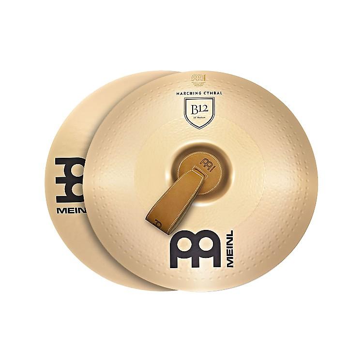 MeinlB12 Marching Medium Cymbal Pair18 in.