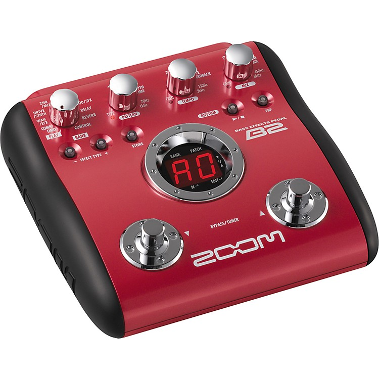 ZoomB2 Bass Multi-Effects Pedal