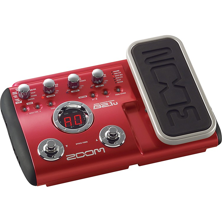 ZoomB2.1u Bass Multi-Effects Pedal/USB Interface
