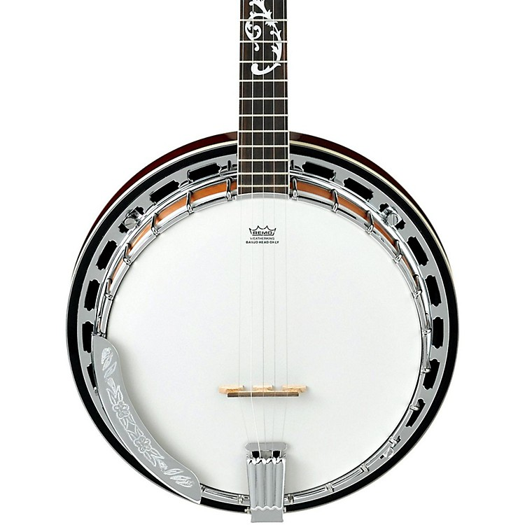 Ibanez B200 5-String Banjo Natural Closed Back