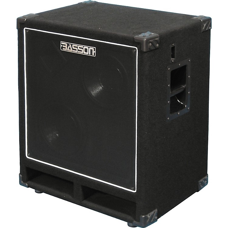 BassonB210B 500W Bass Cabinet with 2x10 Speakers and Horn