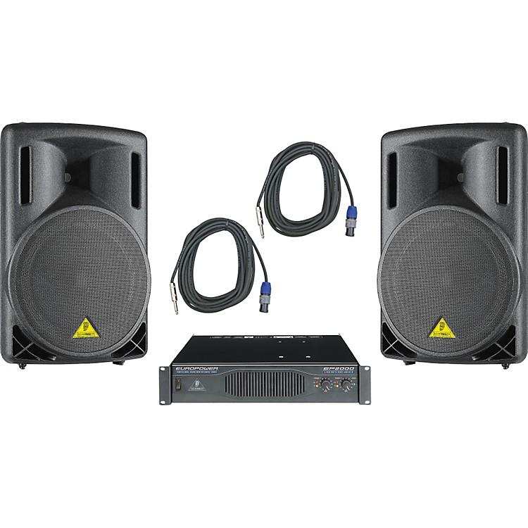 BehringerB215XL / EP2000 Speaker & Amp Package