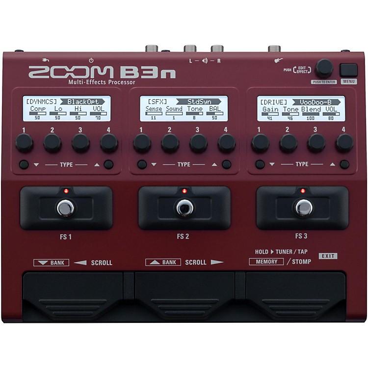 zoom b3n multi effects bass guitar processor music123. Black Bedroom Furniture Sets. Home Design Ideas