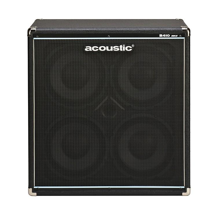 AcousticB410mkII 4x10 Bass Speaker CabBlack