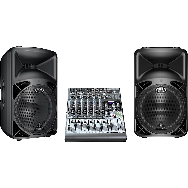 BehringerB412DSP Pair with FREE Xenyx 1204FX