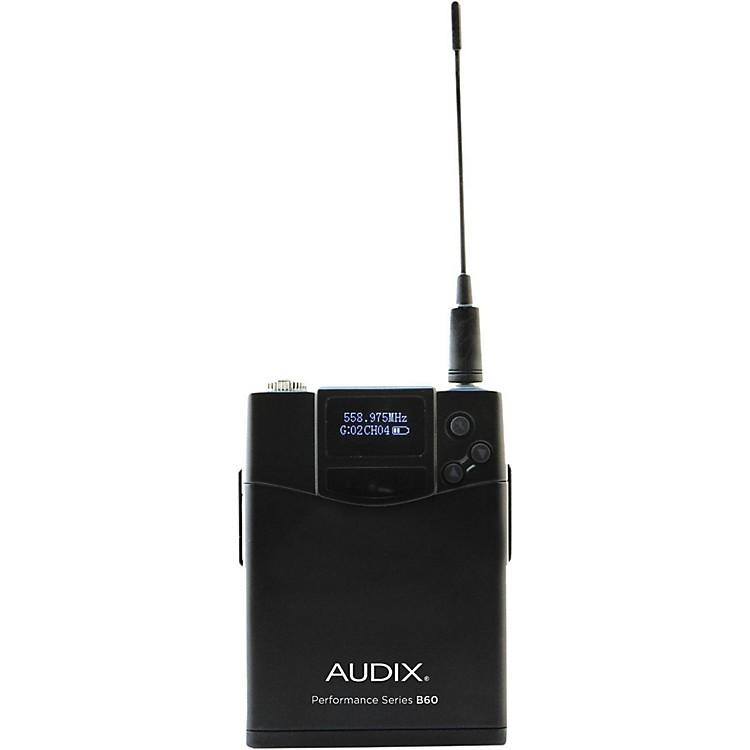 AudixB60 Bodypack Transmitter518-554 MHz