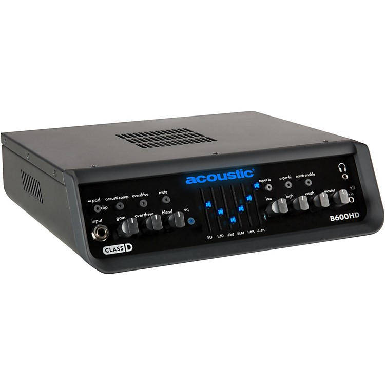 AcousticB600HD 600W Bass Amp Head