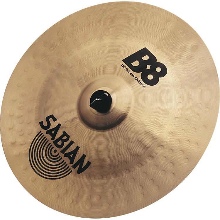 SabianB8 Chinese Cymbal