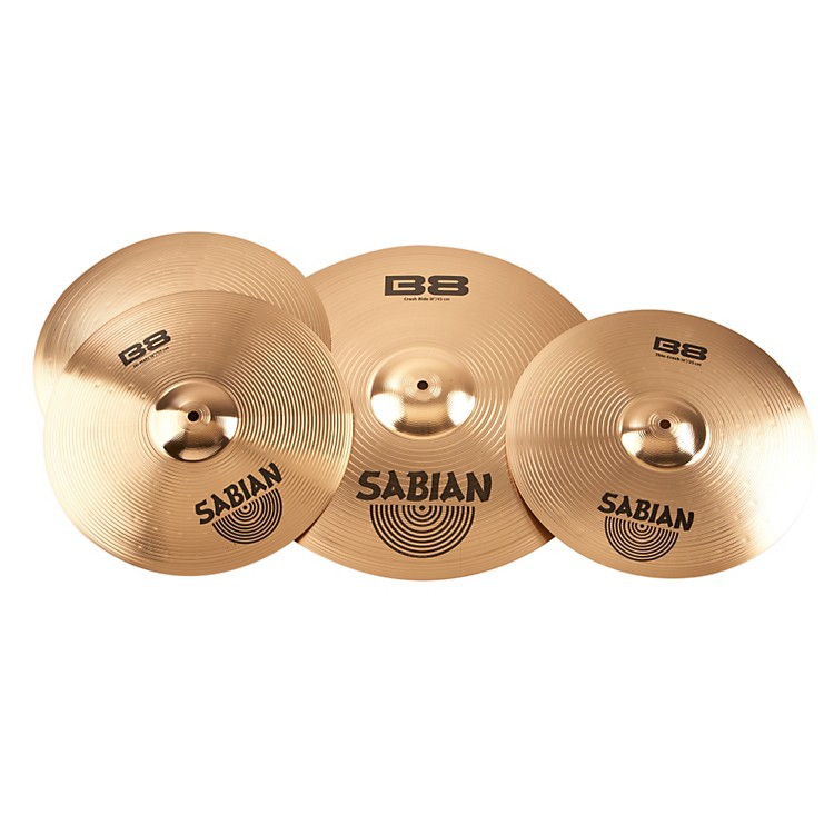 SabianB8 Performance 2 Pack with Free 14 Inch Crash