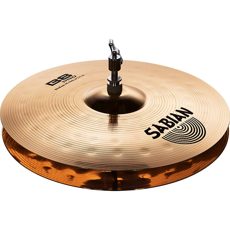 Sabian B8 Pro Medium Hi-Hats Brilliant 14 inch