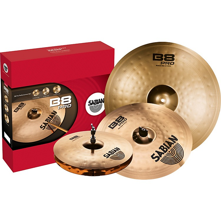 Sabian B8 Pro Performance Set Brilliant