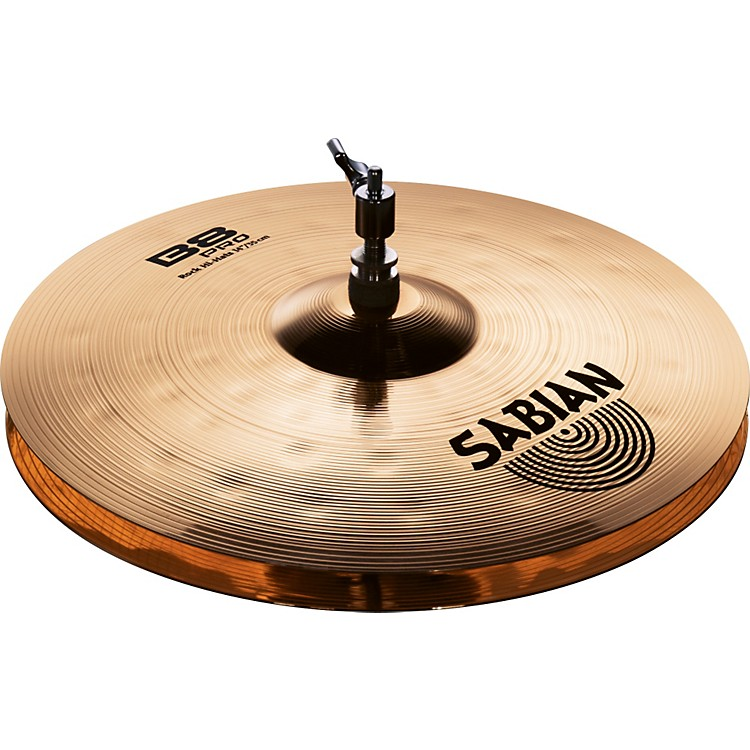 Sabian B8 Pro Rock Hi-Hats Brilliant 14 inch