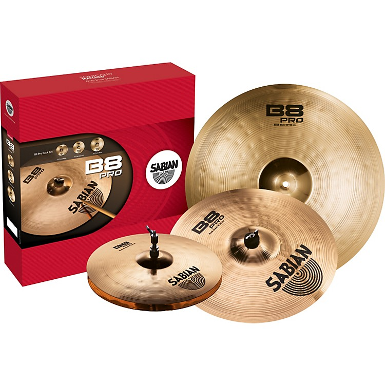Sabian B8 Pro Rock Set Brilliant
