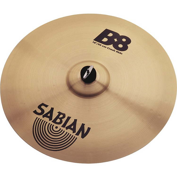 Sabian B8 Series Crash Ride Cymbal  18 Inches