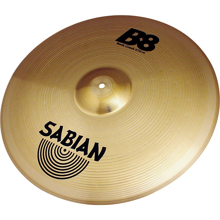 Sabian B8 Series Rock Crash Cymbal