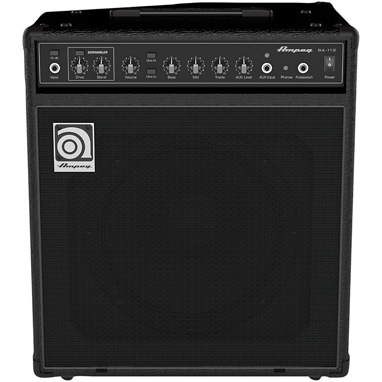 AmpegBA112V2 1x12 Bass Combo Amplifier
