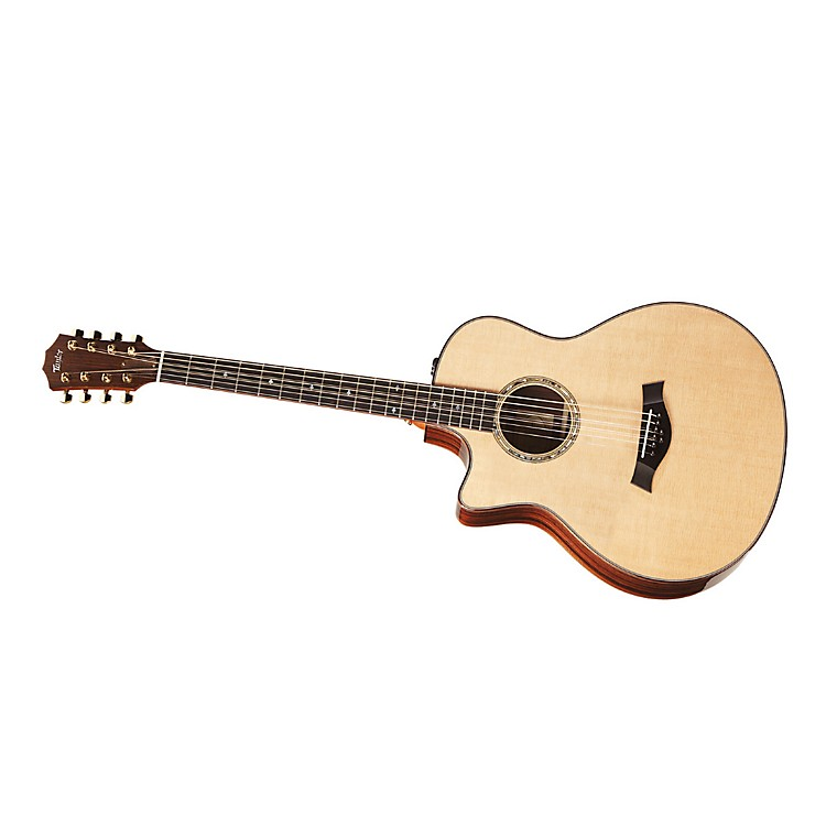 Taylor BAR-8-L Baritone Rosewood/Spruce 8-String Left-Handed Acoustic-Electric Guitar Natural