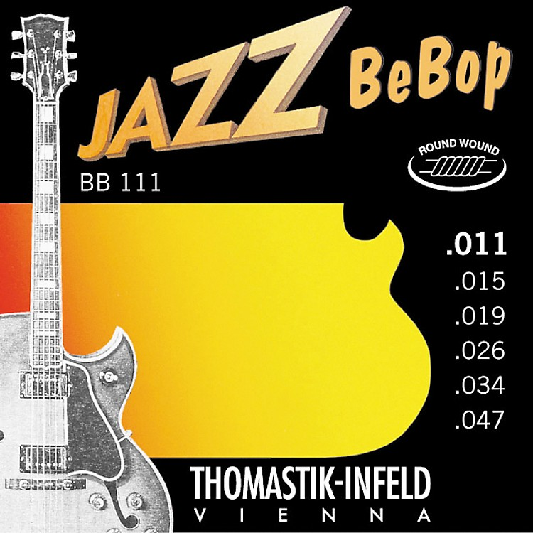 Thomastik BB111 Extra Light Jazz BeBop Guitar Strings