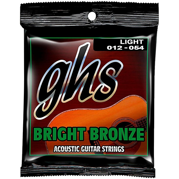 GHS BB30L 80/20 Bronze Light Acoustic Guitar Strings