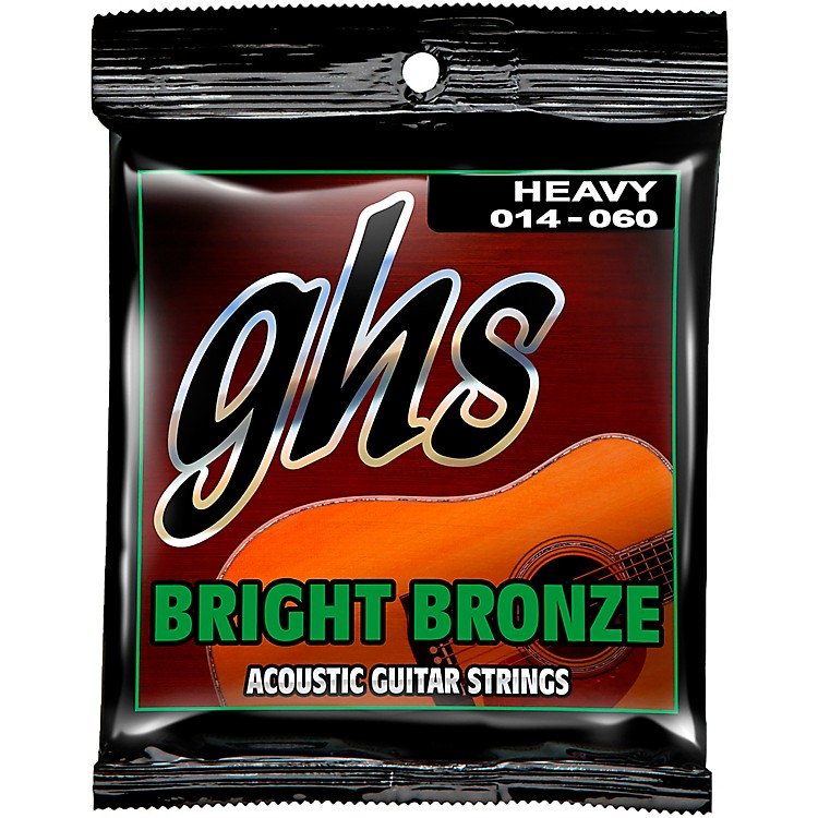 GHS BB50H 80/20 Heavy Bronze Acoustic Guitar Strings &n