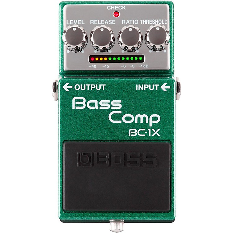 BossBC-1X Bass Compressor Effects Pedal