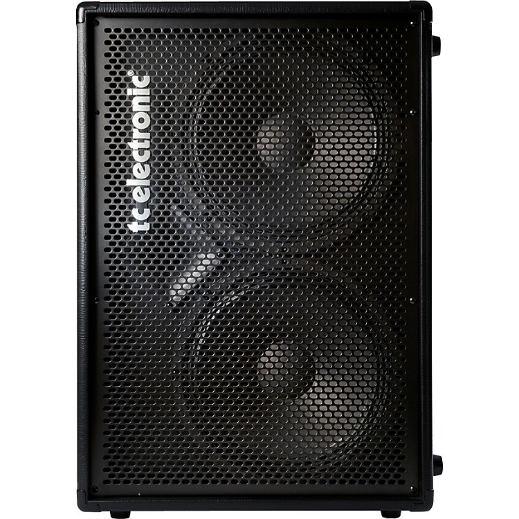 TC Electronic BC212 2x12 Bass Speaker Cabinet Black 8 Ohm