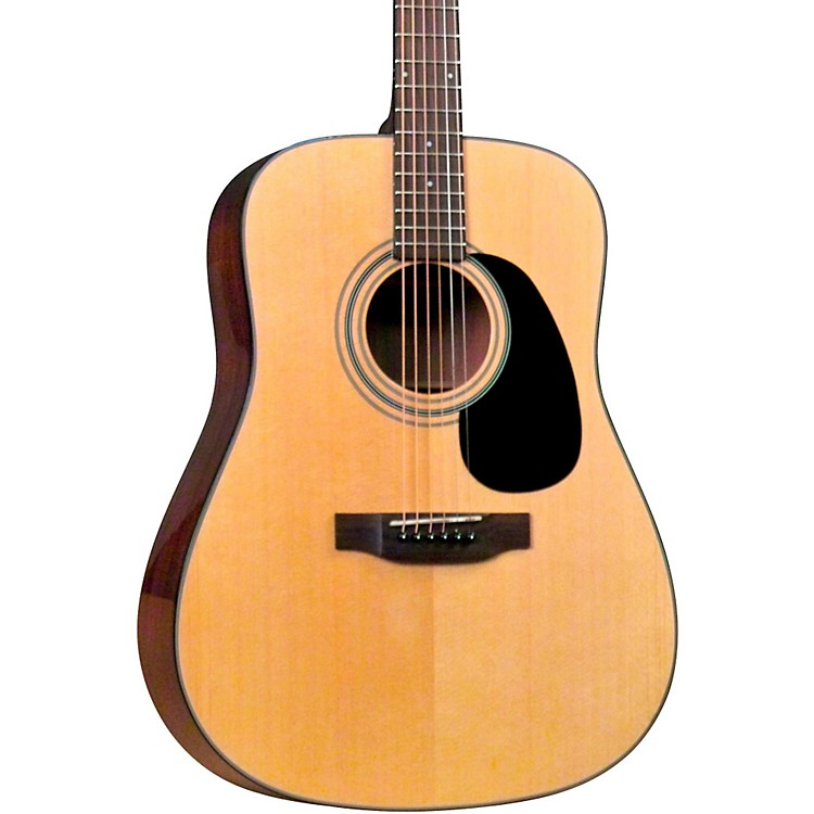 Bristol BD-16 Dreadnaught Acoustic Guitar Natural