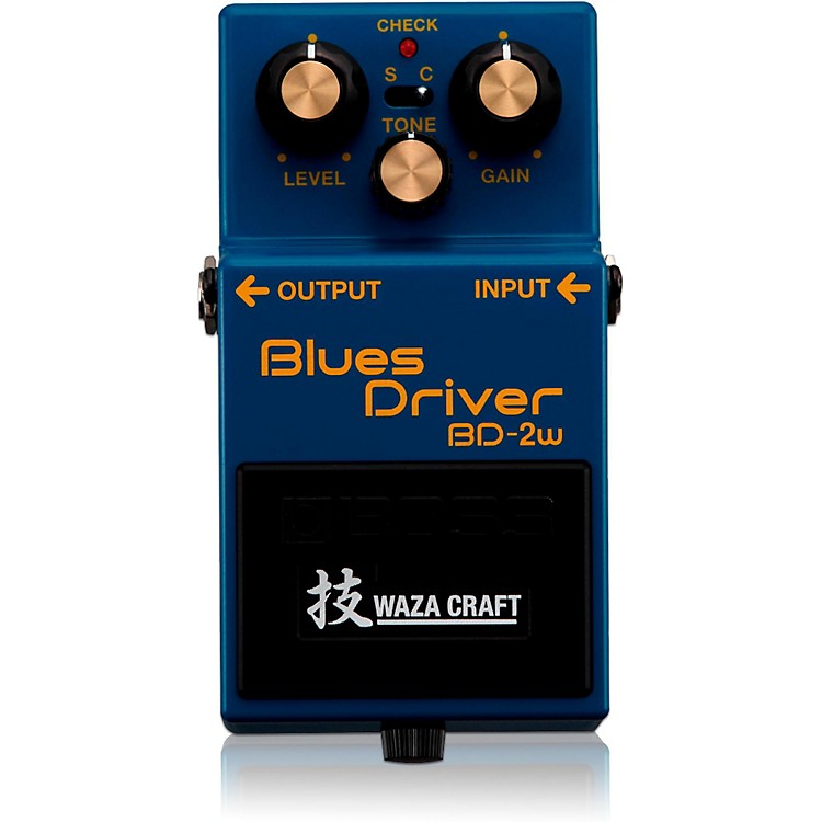 BossBD-2W Blues Driver Waza Craft Guitar Effects Pedal