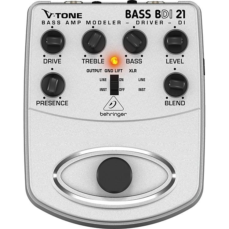 BehringerBDI21 V-Tone Bass Driver Bass Amp Modeler/Direct Recording Preamp/DI Box Pedal
