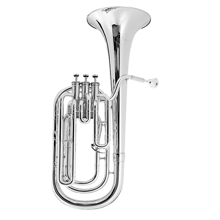 Besson BE1057 Performance Series Bb Baritone Horn BE1057-2-0 Silver