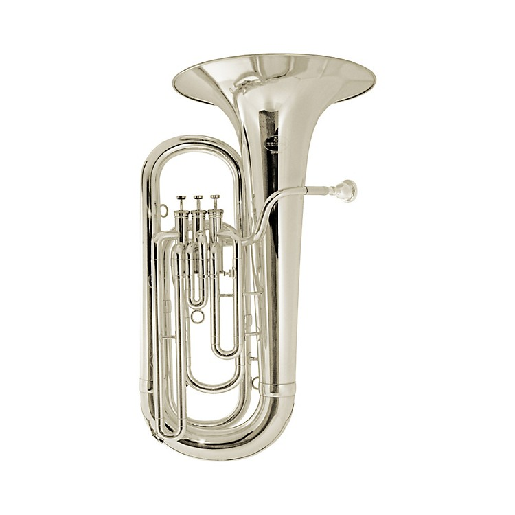 Besson BE1077 Performance Series 3-Valve Eb Tuba BE1077-2-0 Silver