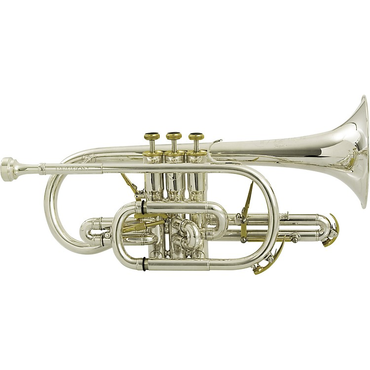 Besson BE2028 Prestige Series Bb Cornet Silver