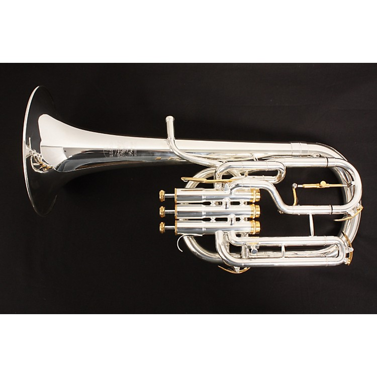 Besson BE2050 Prestige Series Eb Tenor Horn Silver 886830311154